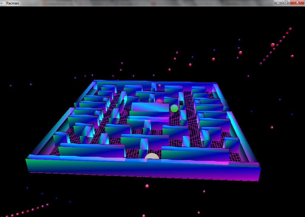 OpenGL Pacman, 2005