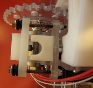 Filament-shredding driveshaft